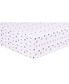 Peak a Bear Jersey Crib Sheet