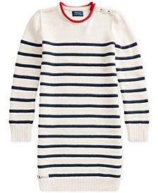 Big Girls Striped Cotton Sweater