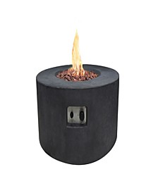 """34"""" Venice Outdoor Fire Pit Table Natural Gas"""
