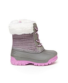 Oshkosh Toddler and Little Girls Snoe Cold Weather Boot