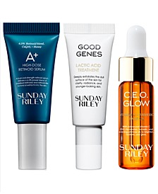 Receive a Free 3pc Skincare + Bag with any $50 purchase (A $55 Value!)