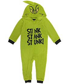 Matching Baby Hooded Pajamas, Online Only