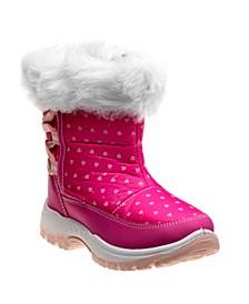Little Girls Snow Boots