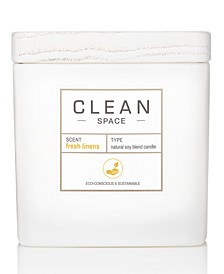 Fresh Linens Candle, 8-oz.