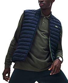 Men's Bomber Puffer Vest