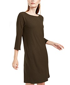 Boat-Neck Dress