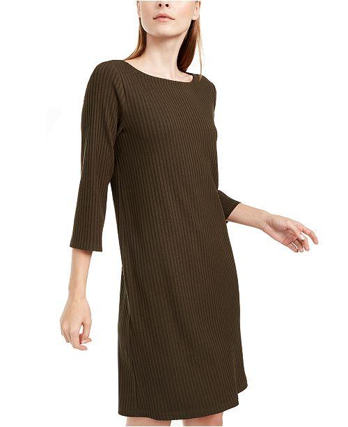 Eileen Fisher Boat-Neck Dress