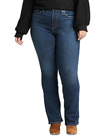 Trendy Plus Size Calley Slim Bootcut Jeans