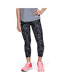Girls' HeatGear® Armour Printed Ankle Crop