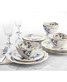 Classic Morning Glory 12-Pc. Dinnerware Set, Service for 4, Created for Macy's