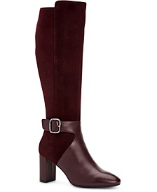Women's Step 'N Flex Nelsonnn Wide-Calf Dress Boots, Created For Macy's