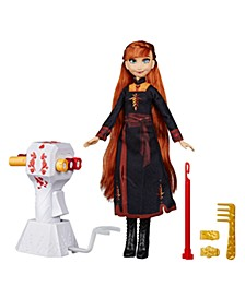 Disney Sister Styles Anna Fashion Doll With Extra-Long Red Hair, Braiding Tool and Hair Clips