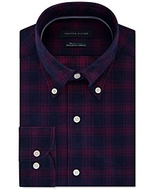 Men's Classic-Fit Check Dress Shirt, Created For Macy's