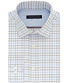 Men's Slim-Fit Check Dress Shirt, Created For Macy's