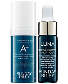 A+ and Luna Retinol Trial Set