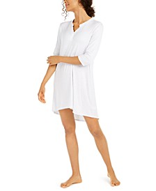 Women's Striped Sleepshirt Nightgown