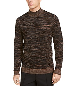 INC Men's Lurex Turtleneck Sweater, Created For Macy's