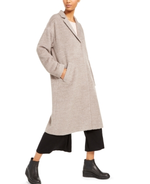 Eileen Fisher Coats NOTCHED-COLLAR COAT