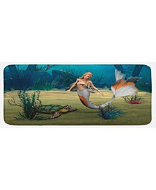 Mermaid Kitchen Mat