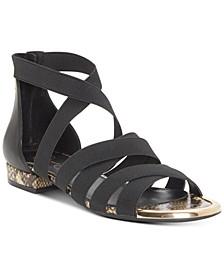 Axella Elastic Flat Sandals