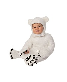 Toddler Girls and Boys Polar Bear Cub Deluxe Costume