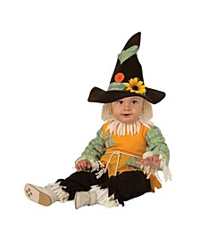 Toddler Girls and Boys Scarecrow Deluxe Costume
