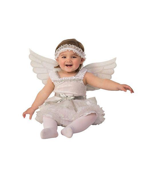 BuySeasons Toddler Girls and Boys Angel Deluxe Costume