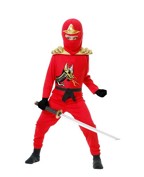 BuySeasons Big and Toddler Boys Ninja Avenger with Armor Costume