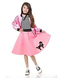 Big Girls Sock Hop Sweetheart Costume