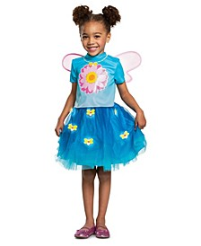 Big and Toddler Girls Sesame Street Abby Cadabby Deluxe Costume