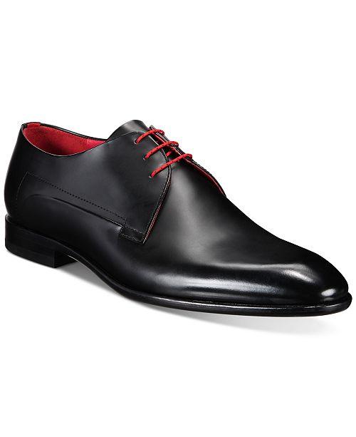 Hugo Boss Men's Appeal Brushed Leather Derby