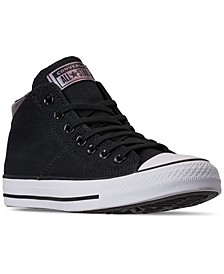 Women's Chuck Taylor Madison Mid Casual Sneakers from Finish Line