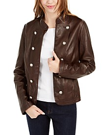 Leather Band Jacket