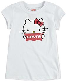 x Hello Kitty Little Girls Cotton Logo T-Shirt