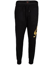 Big Boys Foil Logo Fleece Jogger Pants