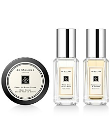 Receive a Free 3-Pc. gift with any $130 purchase from the fragrance collection