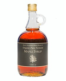 Pure Organic Vermont Maple Syrup, 1000 ml