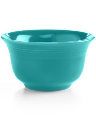 Turquoise Bouillon Bowl