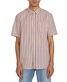 Men's Duffel Stripe Short Sleeve Shirt