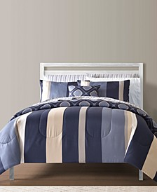 Austin Reversible 9-Pc.Twin Comforter Sets