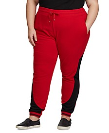 Plus Size Terry Track Pants