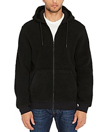 Men's Textured Fleece Hoodie