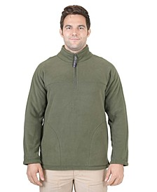 Men's Sherpa Lined 1/4 Zip Pullover