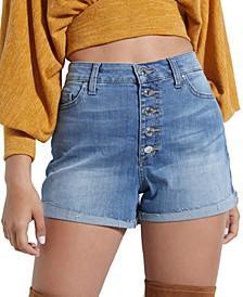 ECO Niki High-Rise Denim Shorts