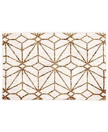 Artisan Celeste Brushed Gold 2' x 3' Area Rug