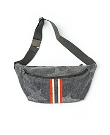 Belt Bag With Racing Stripe