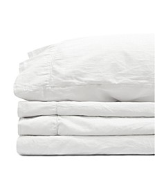 Jennifer Adams Relaxed Cotton Sateen Queen Sheet Set