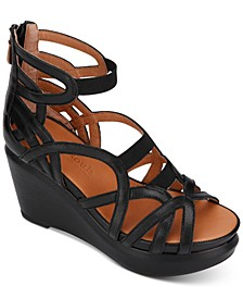 by Kenneth Cole Women's Joy Elastic Wedges