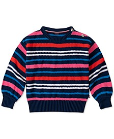 Big Girls Cotton Striped Sweater
