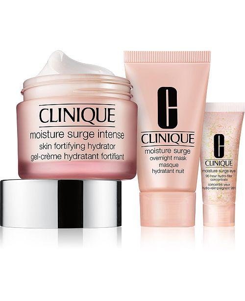 Clinique 3-Pc. Skincare Specialists Set - Intense Hydration